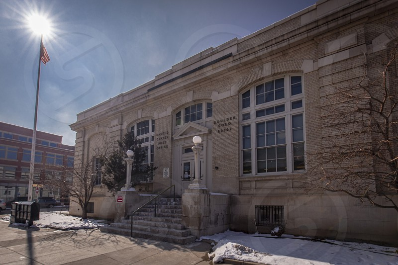 U.S Post Office facility Boulder Colorado 80302 photo