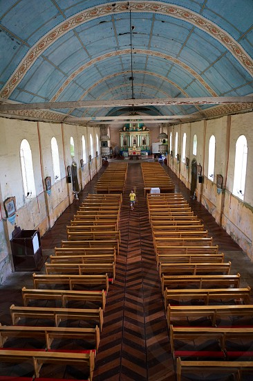 Church in Bohol Philippines.  photo