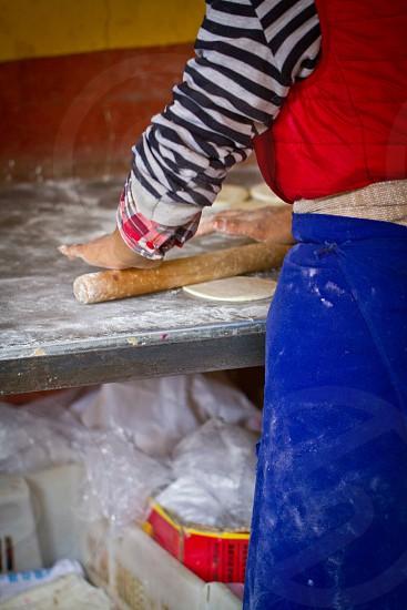 Baking Tibet China photo