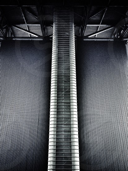 Emergency stairwell @ Chill factor E Manchester.  photo