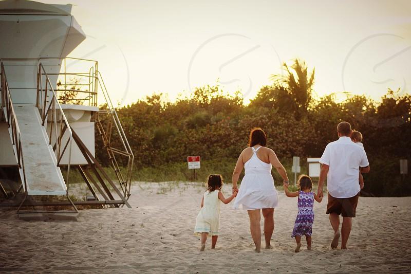 Vero Beach Florida beach family photo