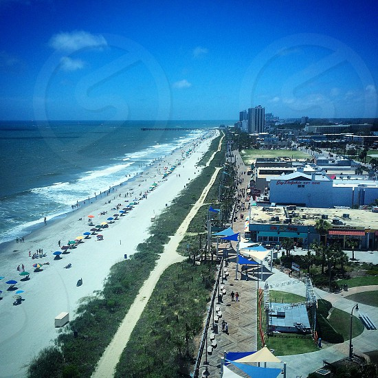Myrtle Beach from the SkyWheel photo