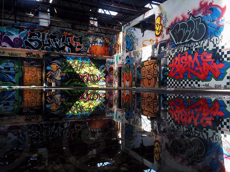 Graffiti in the Wynwood area of Miami Florida. photo