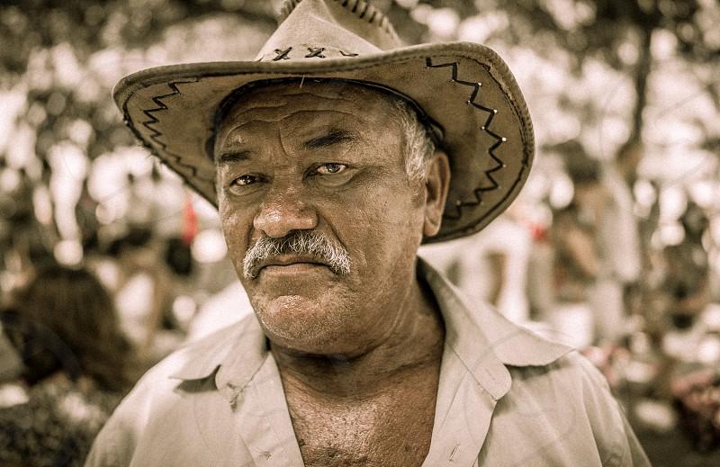 Brazilian corn seller. Rio de Janeiro Brazil photo