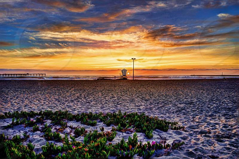 A gorgeous SoCal Sunset. photo