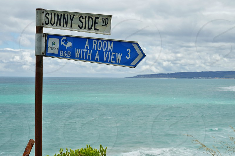 Gorgeous ocean vistas from the Great Ocean Road - Melbourne Victoria Australia photo