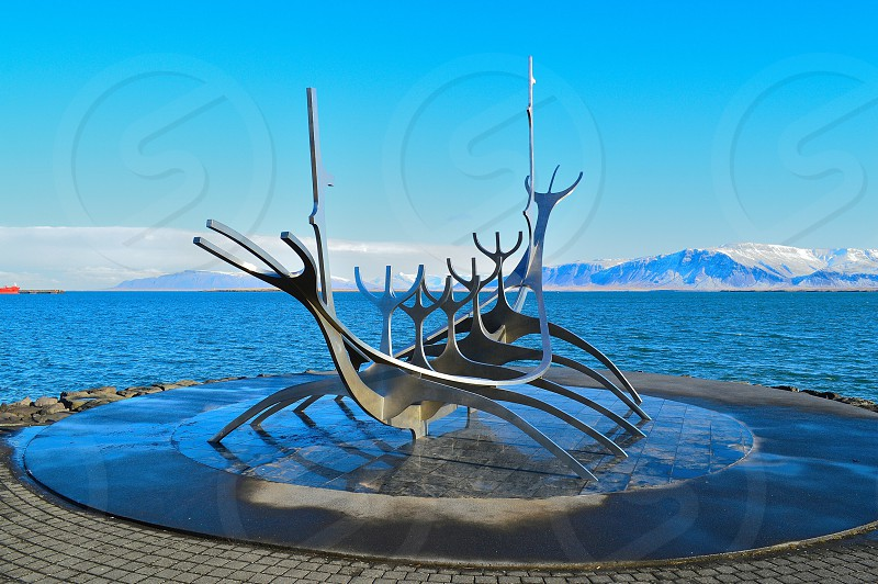 Solfar sculpture Reykjavik Iceland photo
