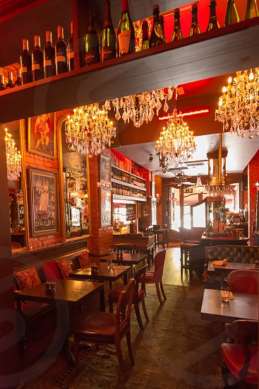 The interior of the Left Bank pub/restaurant in Kilkenny Ireland.  Additional interior and exterior shots available. photo