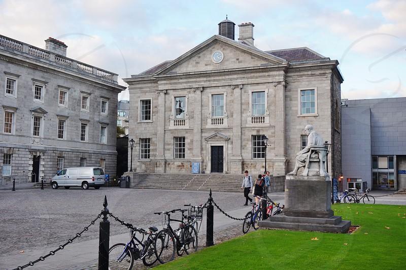 Trinity College in Dublin Ireland photo