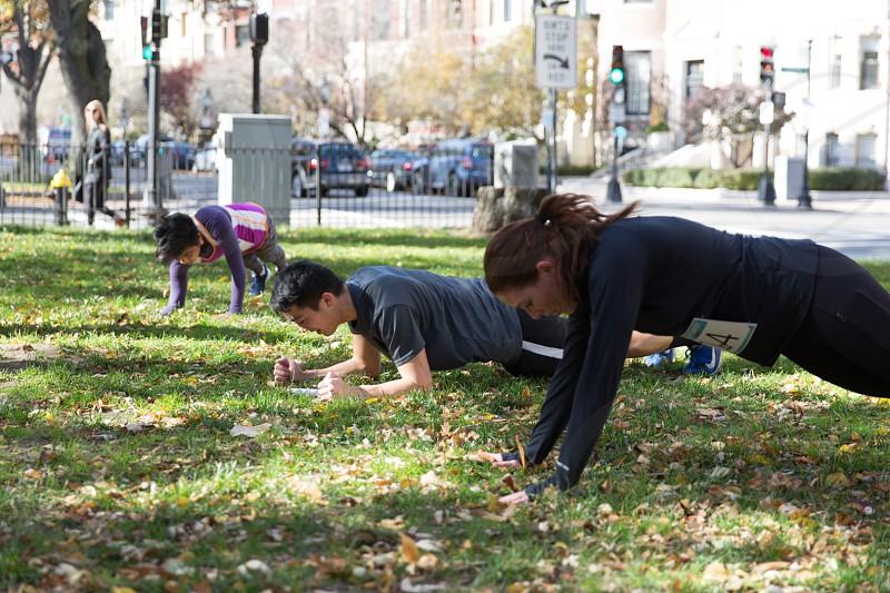 Running in Boston photo