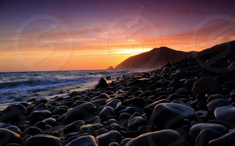Sunset Over Mugu photo