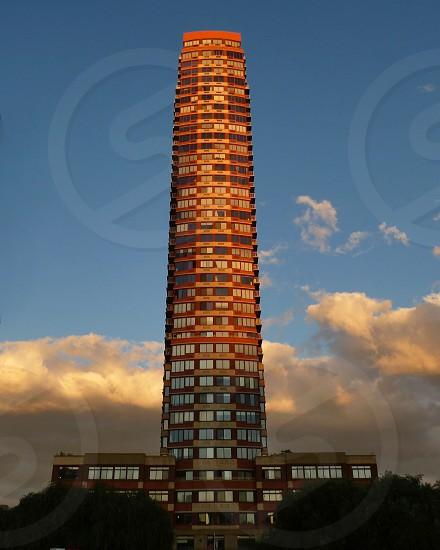 brown high rise tower photo