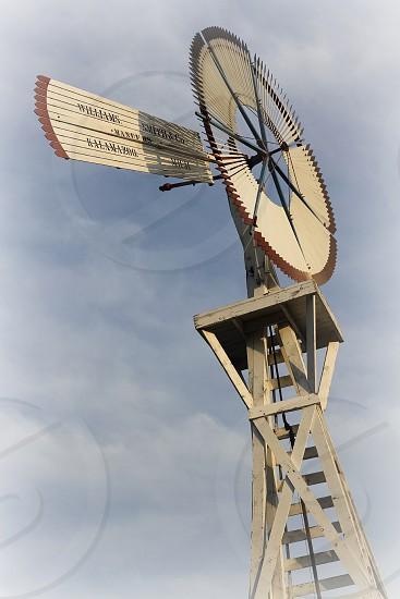 brown wind turbine photo