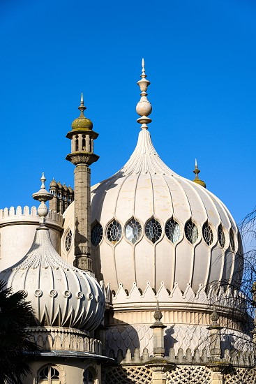 View of the Royal Pavilion in Brighton photo