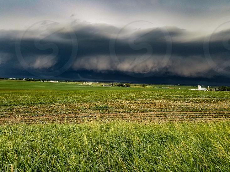 Stormy Field photo