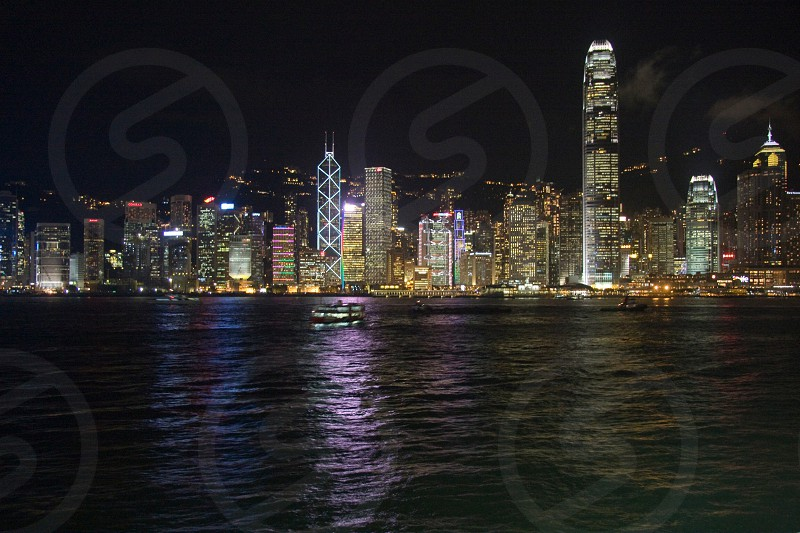 Hong Kong harbor  photo