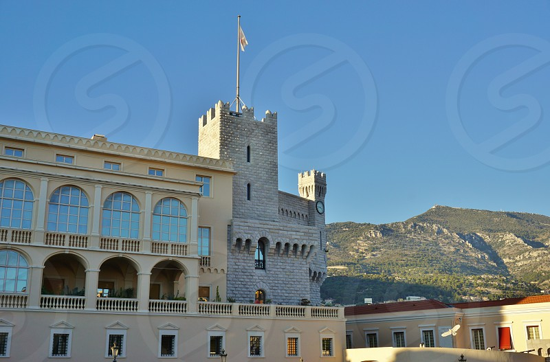 Prince's Palace of Monaco in Monaco-Ville photo