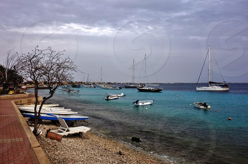 Kralendijk in Bonaire Caribbean Netherlands  photo