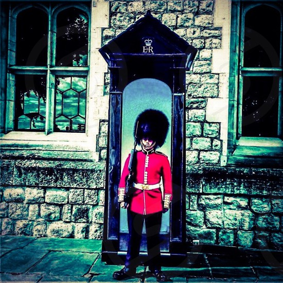 Queen's Guard at The Tower of London photo
