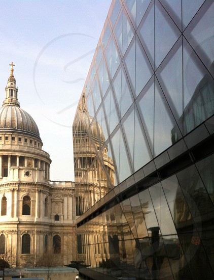 St Pauls Cathedral London Reflection photo