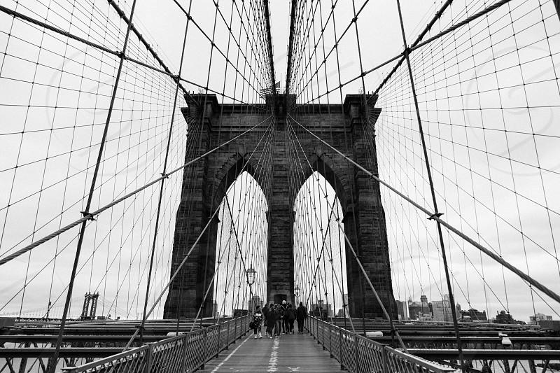 Brooklyn bridge New York nyc bridge  photo