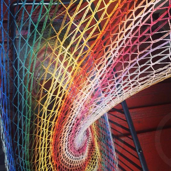 Weaving colours photo