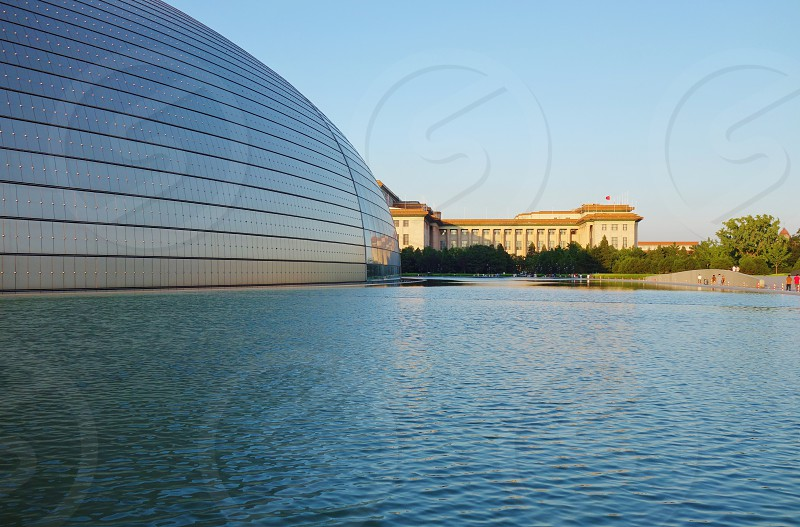 National Centre for the Performing Arts - Beijing China photo