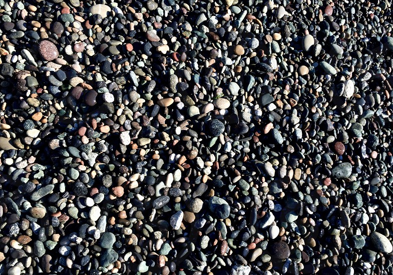 I took this picture in whidbey island.. Colorful stones.. photo