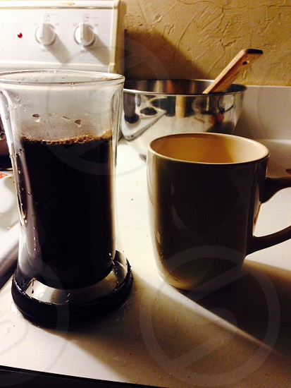 French pressed photo