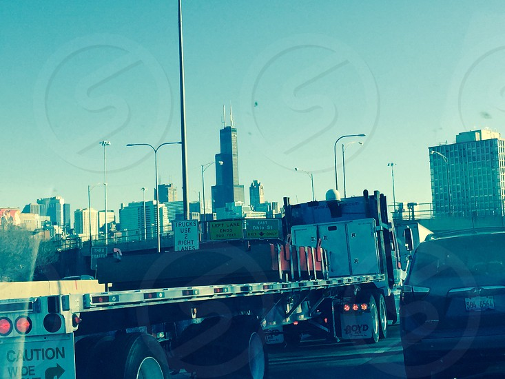 Chicago down town December 2014 photo