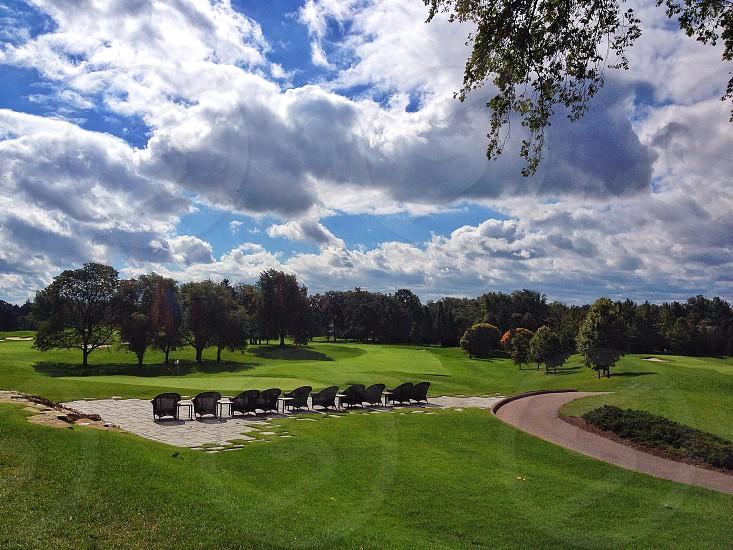 Oakland Hills Golf Club. Bloomfield Hills.  photo