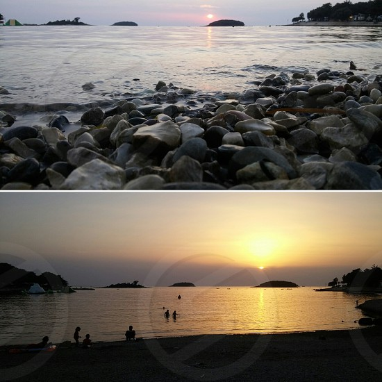 #kroatia #sunset photo
