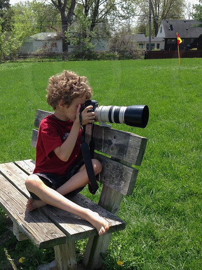 Young photographer photo
