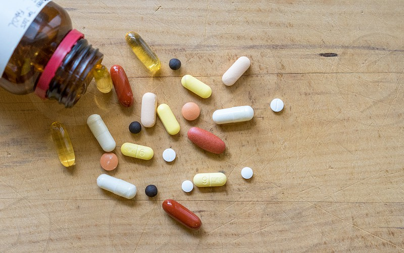 pile of pills photo