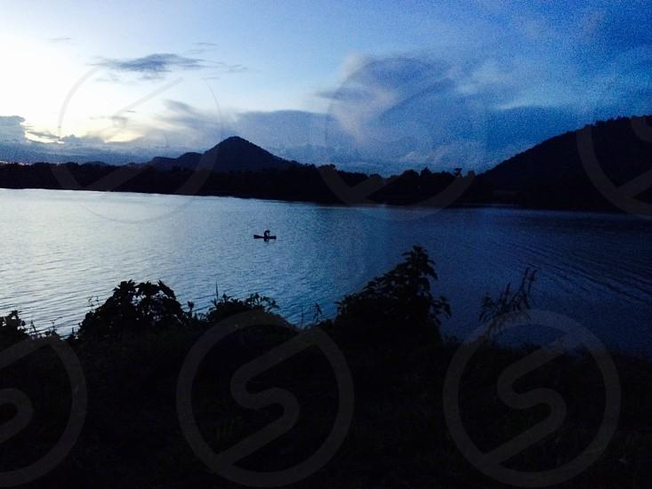 Lake of Amatitlan Guatemala photo