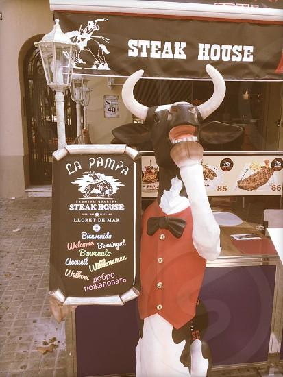 steak house restaurant photo