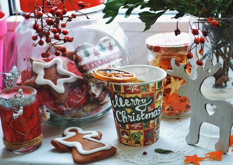 Christmas decorations photo