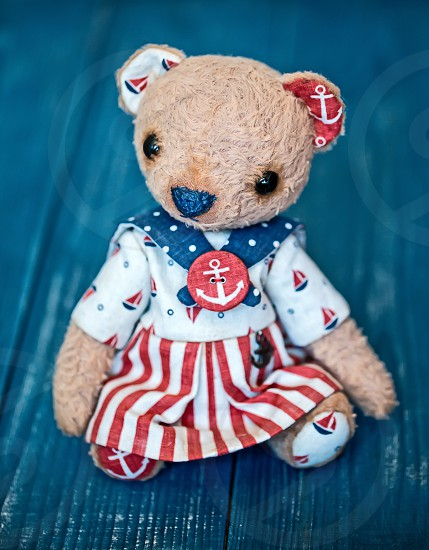 teddy bear sailor photo