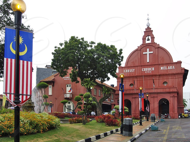 Christ Church in the city of Malacca Malaysia photo
