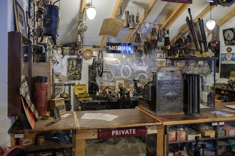 Old Shop in the Motor Museum at Bourton-on-the-Water photo