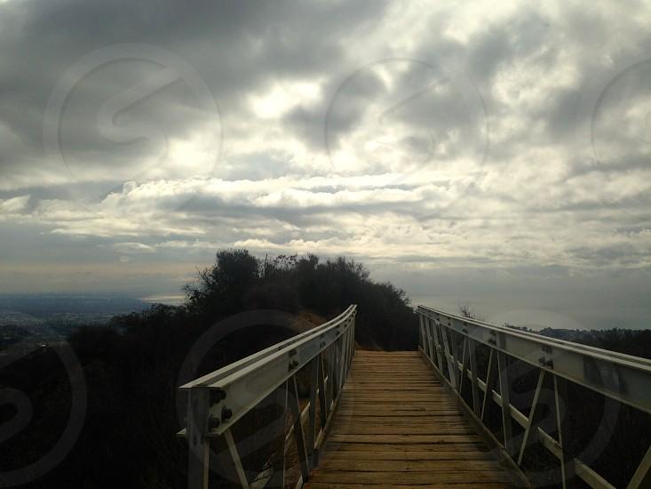 Bridge to a land of dreams.  photo