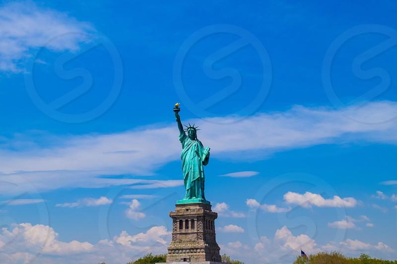 New York City liberty island Statue of Liberty  photo