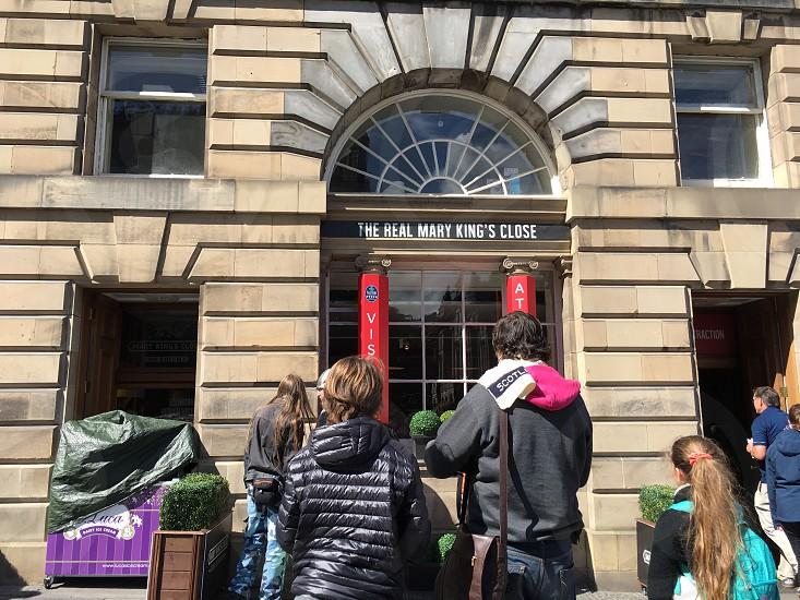 The real Mary kings close Edinburgh photo