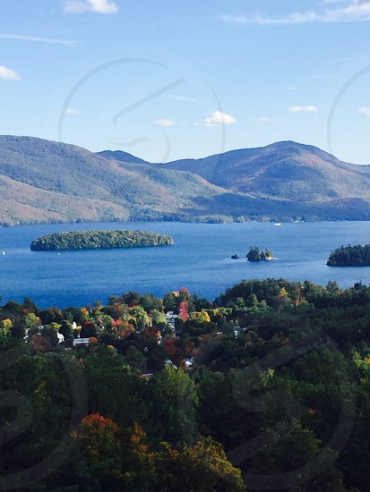 A view of Lake George from Bolton Landing NY. photo