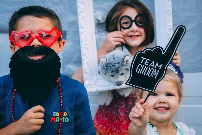 Children in Costumes photo