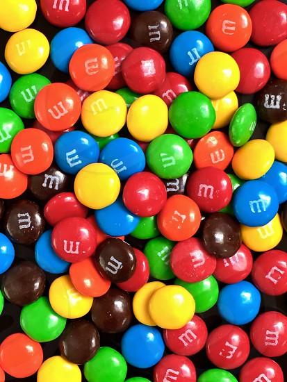M&M candy photo