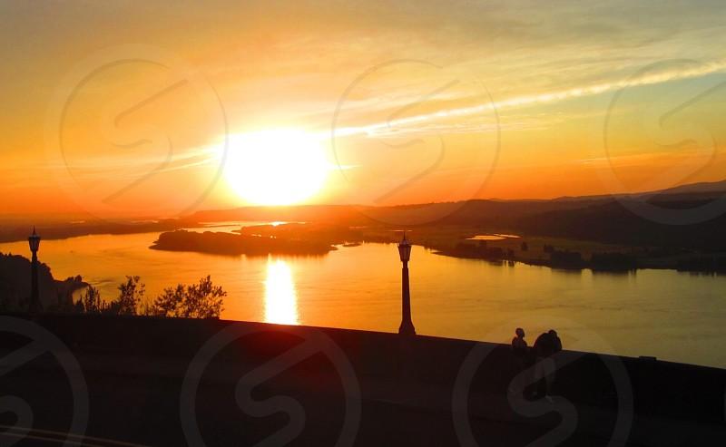 Crown Point Washington Columbia River.  photo