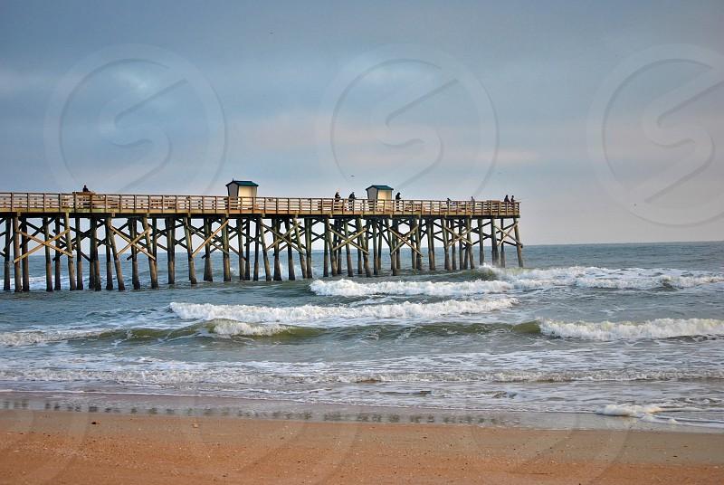 pier beach photo
