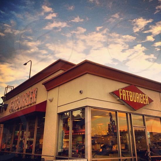 fatburger stor sign photo