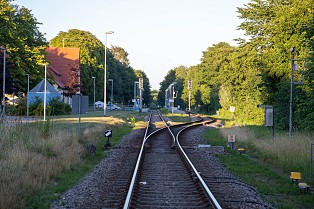 Fall Railway Tracks Leaves Colorful Trains Train Tracks